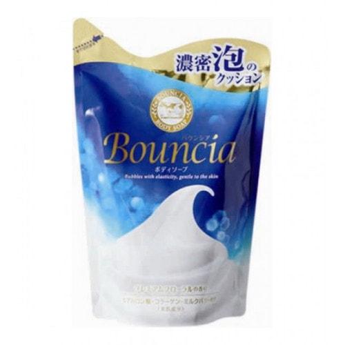 """Cow Brand """"Bouncia"""" Жидкое увлажняющее мыло для тела c свежим ароматом , сменная упаковка"""