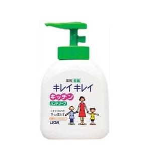 """Lion """"Kirei Kirei""""  Антибактериальное мыло для рук , дозатор, 250 мл, Артикул:007333"""