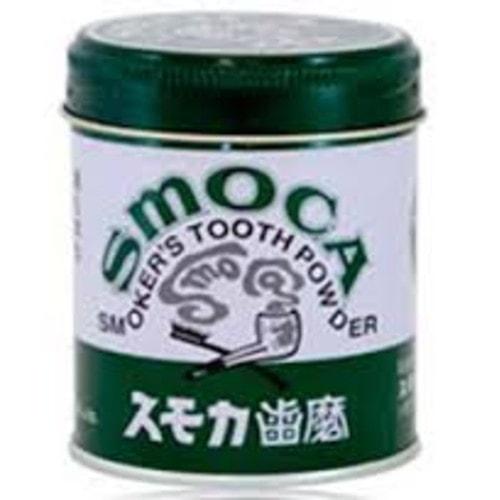 SMOCA Smoca Green - Зубной порошок для курильщиков со вкусом мяты и  эвкалипта, 155 гр, Артикул:011020