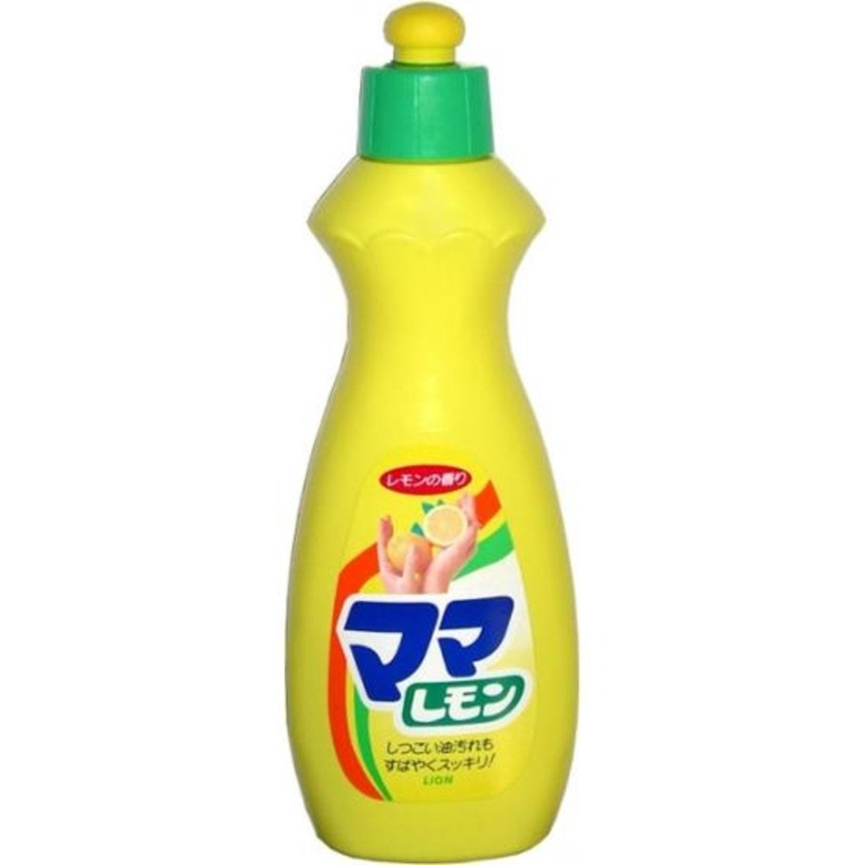 """Lion """"Mama Lemon"""" Средство для мытья посуды  с ароматом лимона, удаляет жир, 380мл Артикул: 073086"""