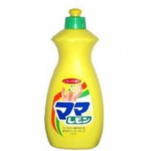"""Lion """"Mama Lemon"""" Средство для мытья посуды  с ароматом лимона, удаляет жир, 800мл, Артикул: 073093"""