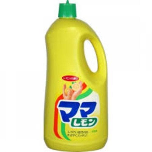 """Lion """"Mama Lemon"""" Средство для мытья посуды с ароматом лимона, удаляет жир, 2150 мл Артикул: 073116"""