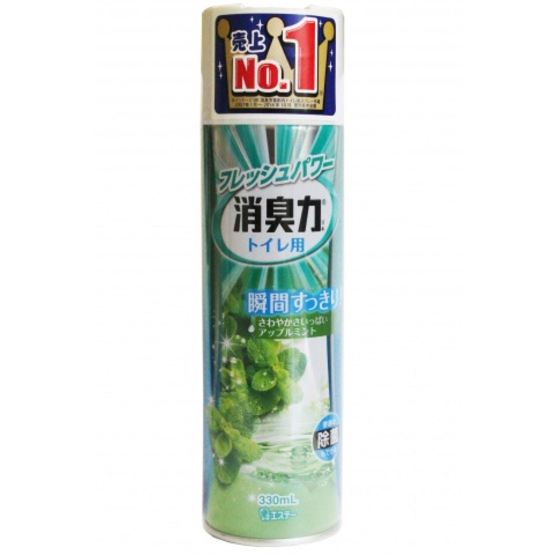 """ST """"Shoushuuriki"""" освежитель воздуха для туалета с ароматом яблока и мяты"""