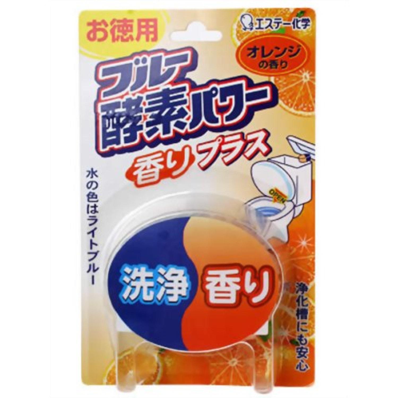 ST BLUE ENZYME POWER  Очищающая таблетка для бачка унитаза с ароматом апельсина, 120 гр, Артикул: 115426