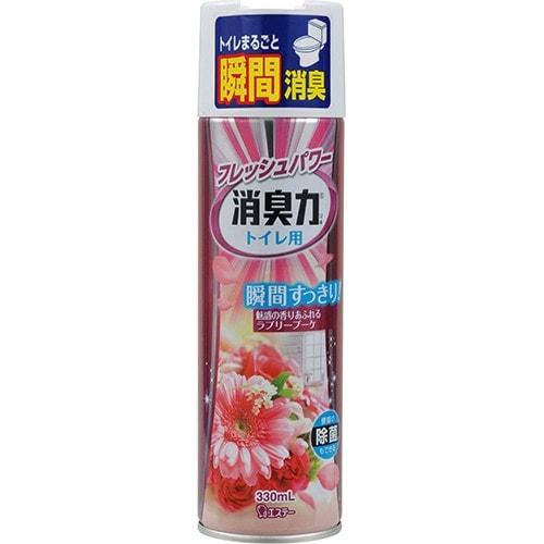 """ST """"Shoushuuriki"""" освежитель воздуха для туалета с ароматом розовых цветов"""