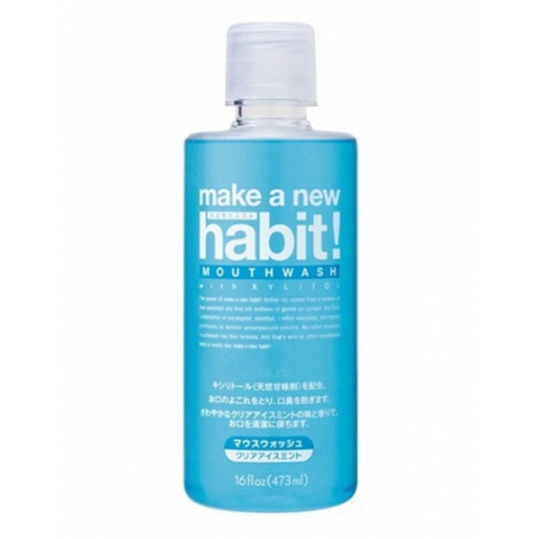 NISSAN «NS FaFa Make a new Habit» Средство для полоскания рта со вкусом мяты