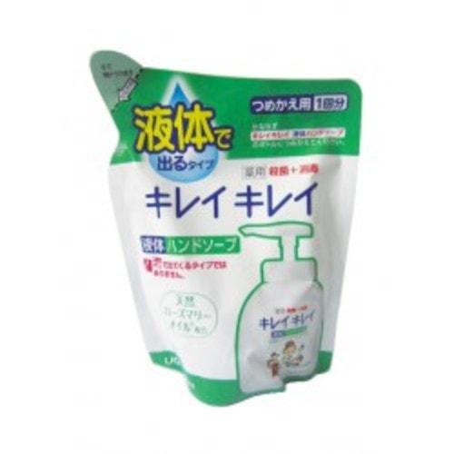 """Lion """"Kirei kirei"""" Жидкое мыло для рук с ароматом лимона сменная упаковка 200 мл,Артикул:176824"""