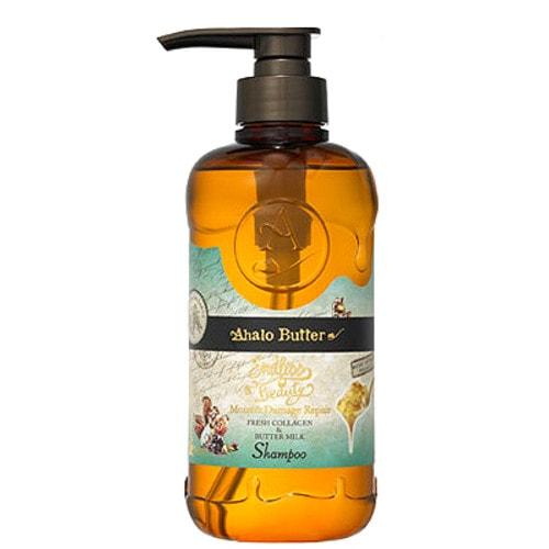 Ahalo Butter Moist & Repair Shampoo Шампунь увлажняющий и восстанавливающий на растительной основе (без сульфатов и силикона) 500 мл /400481