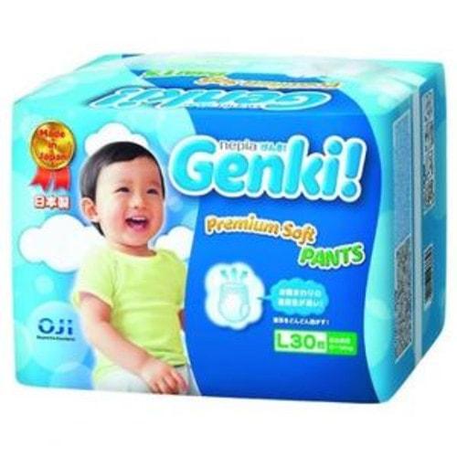 """""""Nepia Genki"""" Детские подгузники-трусики (для мальчиков и девочек) 30 шт., L 9-14 кг."""