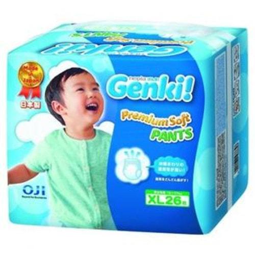 """""""Nepia Genki"""" Детские подгузники-трусики (для мальчиков и девочек) 26 шт., XL 12-17 кг."""