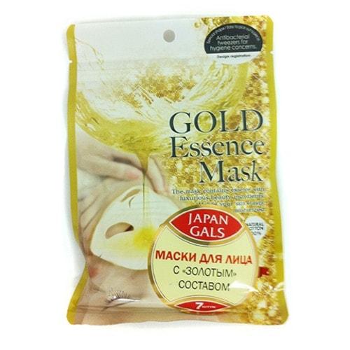 Japan Gals Маска с «золотым» составом Essence Mask 7 шт, Артикул: 680129
