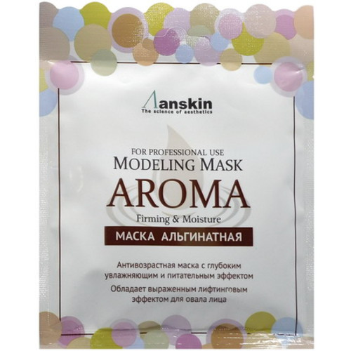 Anskin Modeling Mask Aroma Firming & Moisturizing альгинатная маска антивозрастная питательная, 25 г/ 421782
