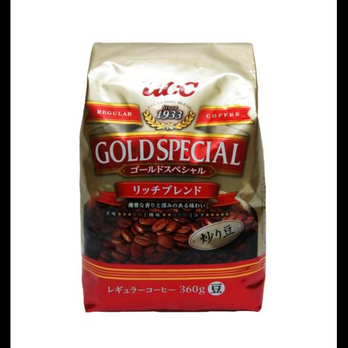 """UCC Gold Special Кофе """"Рич бленд"""" обжаренный, в зернах, МУ, 360 гр"""