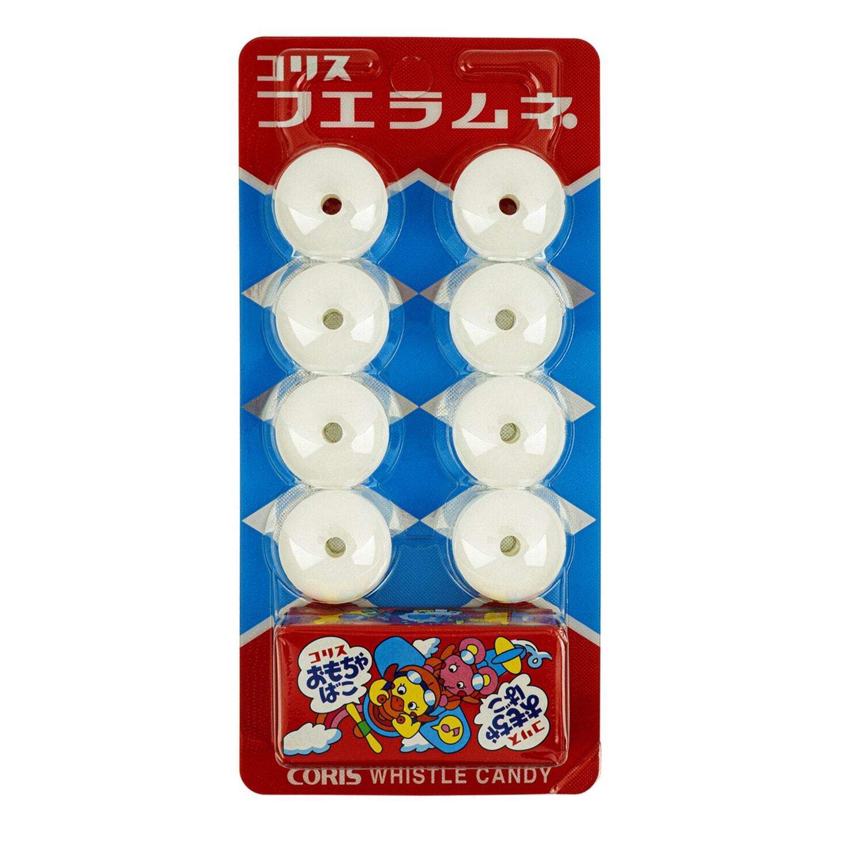 Coris Леденцы-свистульки со вкусом крем содовой и игрушкой, 8шт, 22 гр