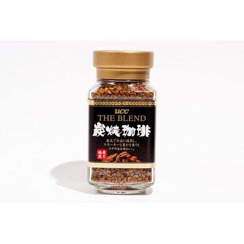 UCC Кофе растворимый СУМИЯКИ обжареннфй на углях, черный (крепкий) стекло, 45гр