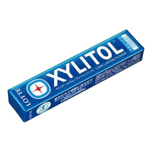 LOTTE XYLITOL Жевательная резинка  со вкусом освежающей мяты 14 подушечек