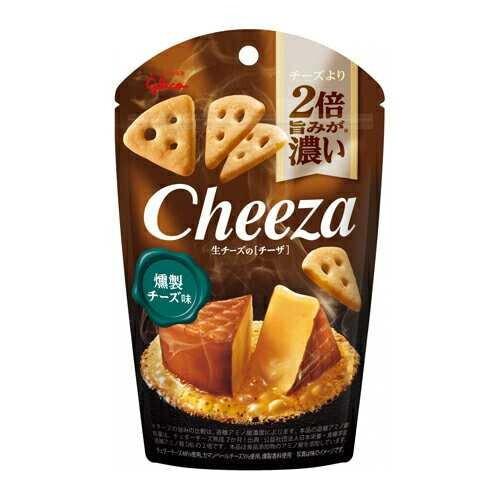 GLICO CHEEZA Крекеры со вкусом копченного сыра 40 гр