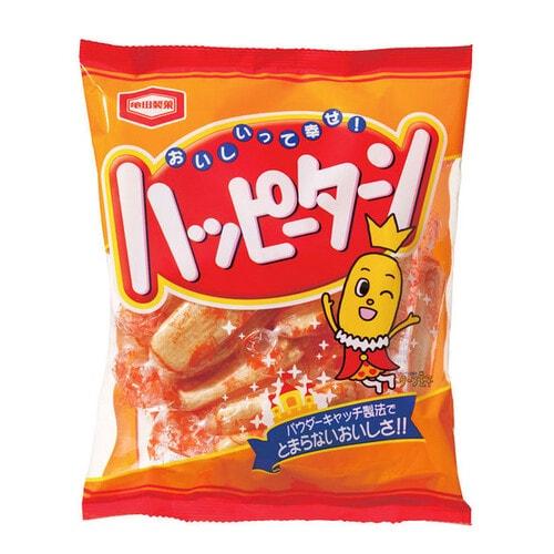 Kameda HAPPY TURN Воздушное рисовое печенье - палочки, подсоленное, 14 шт * 108 гр