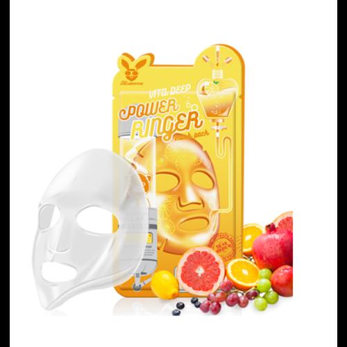 Elizavecca Deep Power Ringer Mask Pack Vita Тканевая маска с витаминным комплексом