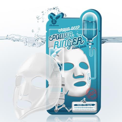 Elizavecca Deep Power Ringer Mask Pack Aqua Тканевая маска с гиалуроновой кислотой
