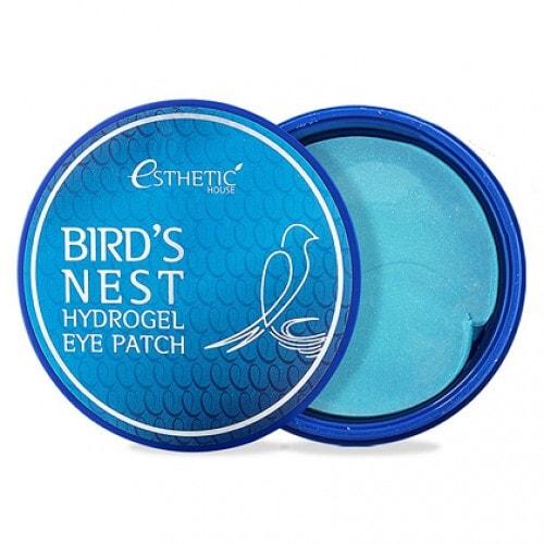 ESTHETIC HOUSE Bird's Nest Hydrogel Eye Patch  Патчи для глаз гидрогелевые увлажняющие с экстрактом ласточкиного гнезда, 60 шт