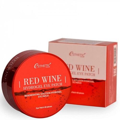 ESTHETIC HOUSE Red Wine Hydrogel Eye Patch Патчи для глаз гидрогелевые тонизирующие с красным вином , 60шт.