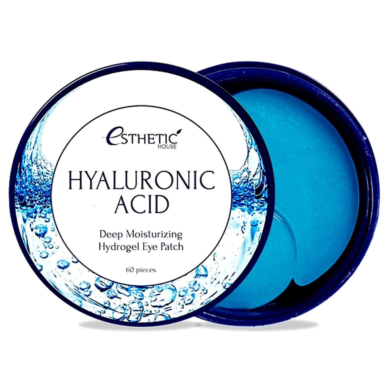 ESTHETIC HOUSEHyaluronic Acid Hydrogel Eye Patch Патчи гидрогелевые глубокоувлажняющие с гиалуроновой кислотой  , 60шт.