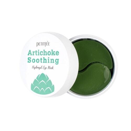 Petitfee Artichoke Soothing Hydrogel Освежающие гидрогелевые патчи для области вокруг глаз с экстрактом артишока , 60 шт