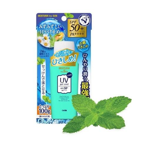 Omi Brotherhood Menturm The Sun UV gel SPF 50+ PA++++ Гель солнцезащитный для лица и тела освежающий, 100 г