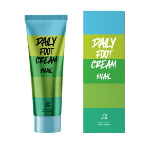J:ON Snail Daily Foot Cream Крем для ног с муцином улитки, 100 мл