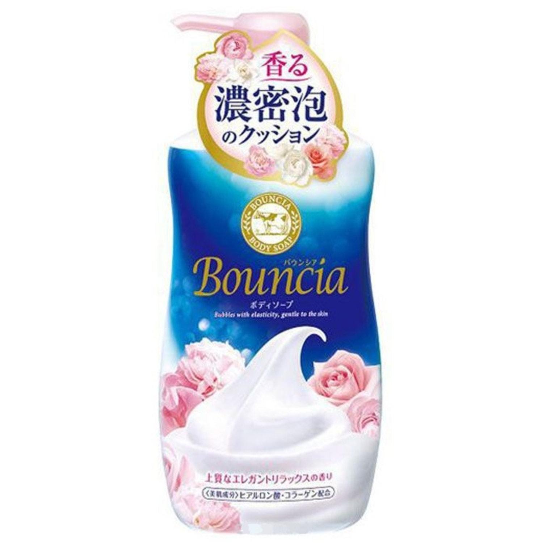 СOW «Bouncia» Жидкое мыло для тела и рук со сливками и коллагеном с ароматом роскошного букета