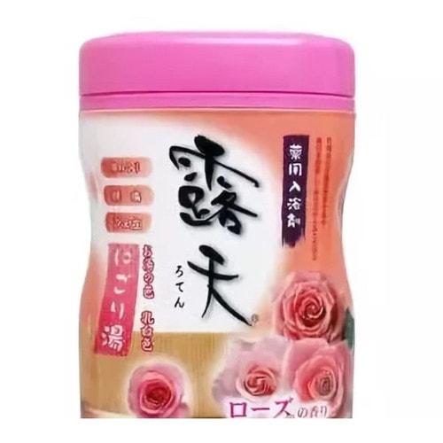 Fuso Kagaku Соль для ванны с бодрящим эффектом и ароматом роз, 700 г / 070111