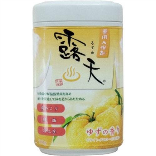 Fuso Kagaku Соль для ванны с бодрящим эффектом и ароматом юдзу, 700 г / 070128