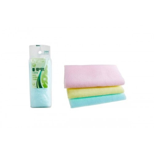 SB Clean & Beauty Roll Wave Shower Towel Мочалка для душа, 28*95 см./ 100298