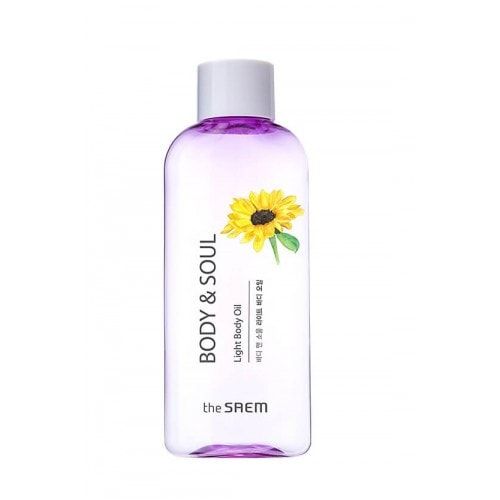 The Saem Body & Soul Light Body Oil Омолаживающее масло для тела , 230мл/ 139288