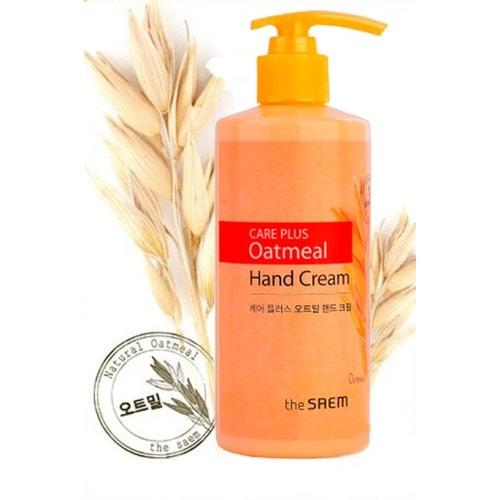 THE SAEM Care Plus Oatmeal Hand Cream Супер увлажняющий крем для рук с экстрактом овса
