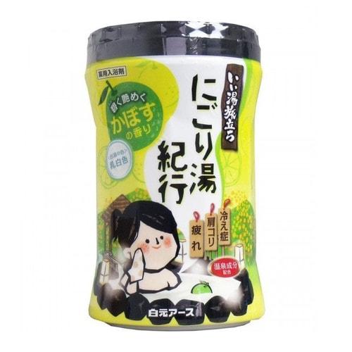 """Hakugen Earth"""" """"Банное путешествие"""" Увлажняющая соль для ванны с восстанавливающим эффектом (с ароматом цитрусов)"""