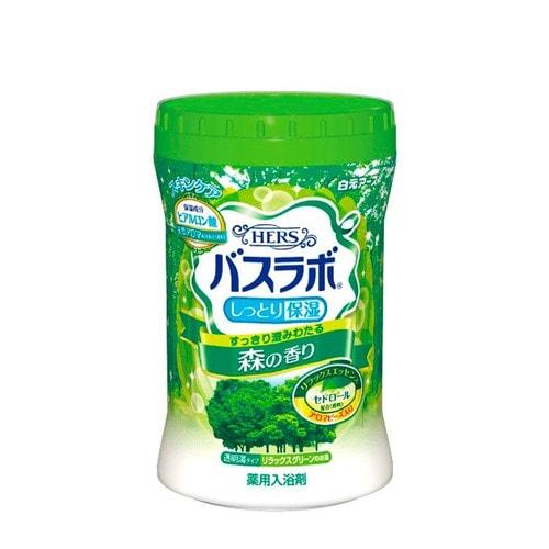 Hakugen Eartn  Увлажняющая соль для ванны с восстанавливающим эффектом с гиалуроновой кислотой (с ароматом леса)