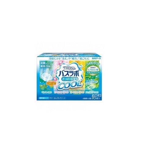 Hakugen Eartn HERS Bath Labo COOL  Освежающая соль для ванны с охлаждающим эффектом , 45 гр/ 226155