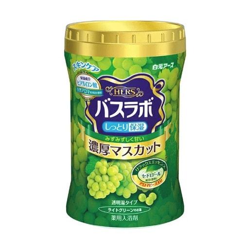 Hakugen Eartn Увлажняющая соль для ванны с восстанавливающим эффектом (виноград)