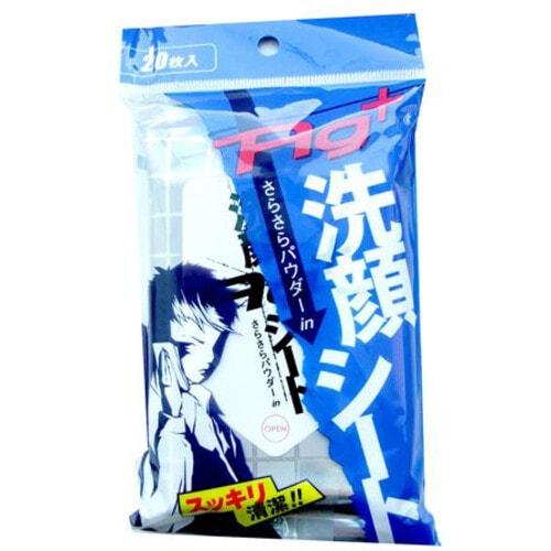 Showa Shiko Ag+ Освежающие влажные салфетки для лица и тела  с ионами серебра и ароматом ментола / 20 шт