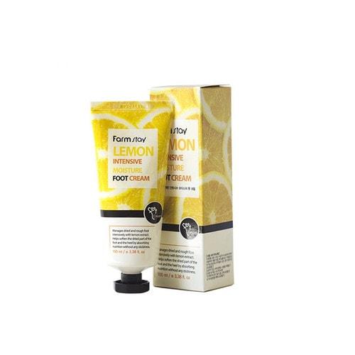 FarmStay Lemon Intensive Moisture Foot Cream Крем для ног смягчающий с экстрактом лимона