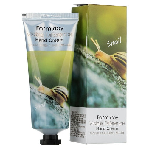 FarmStay Visible Difference Snail Hand Cream Крем для рук с экстрактом улитки