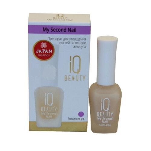 IQ BEAUTY My Second Nail Препарат для утолщения ногтей на основе жемчуга, 12,5 мл