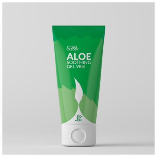 J:ON Face & Body Aloe Soothing Gel 98% Гель универсальный для лица и тела для всей семьи, 200 мл