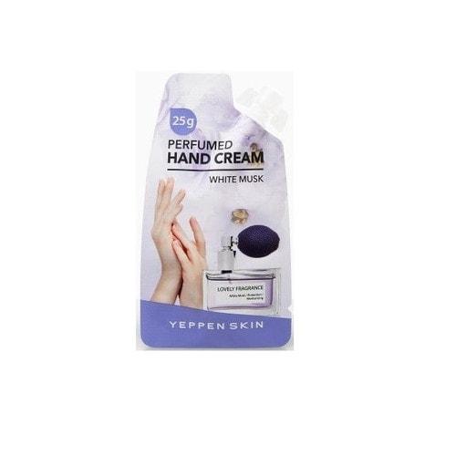 YEPPEN SKIN Парфюмированный глубокоувлажняющий крем для рук с экстрактом календулы (аромат белого мускуса) 20 г. / 859715