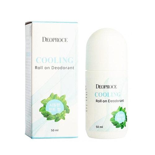 Deoproce Cooling Roll On Deodorant Охлаждающий шариковый дезодорант