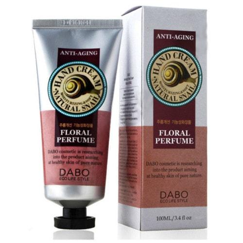 DABO Eco Snail Hand Cream Антивозрастной крем для рук с улиткой, 100 мл / 952509