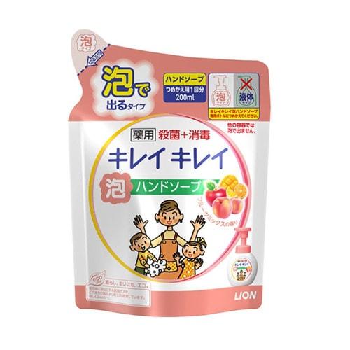 LION KIREI KIREI Мыло-пенка для рук с ароматом фруктов, см. бл