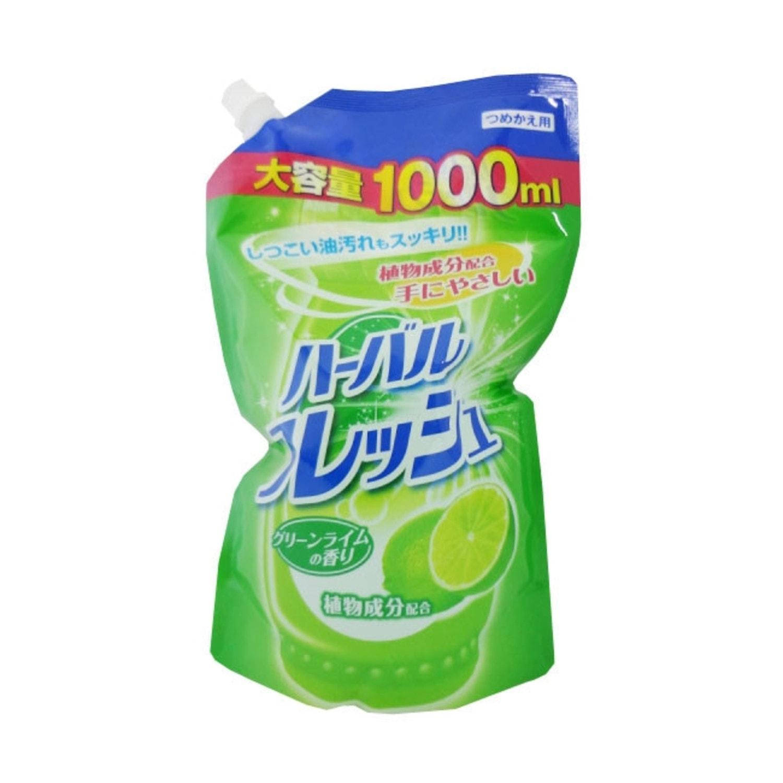 MITSUEI  Средство для мытья посуды, овощей и фруктов  с ароматом лайма, 1000 мл, м/у/ 040719